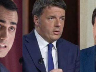 Di Maio Renzi Conte