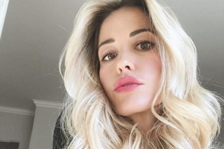 Elena Santarelli operazione figlio malato