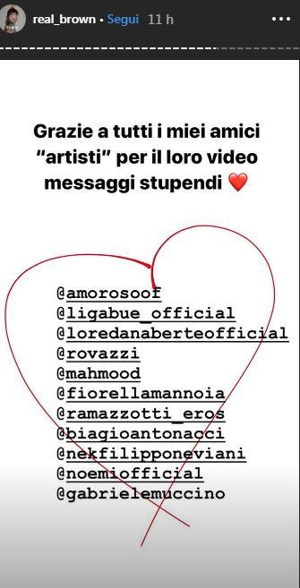 emma marrone instagram story