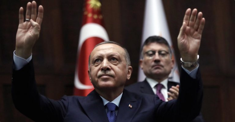 erdogan minacce