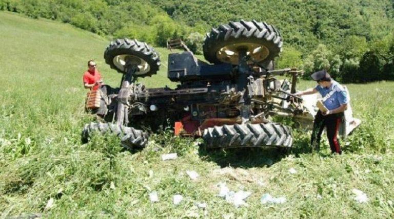 incidente lavoro trattore