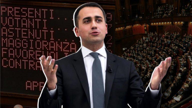 Luigi Di Maio, taglio parlamentari e reddito di cittadinanza