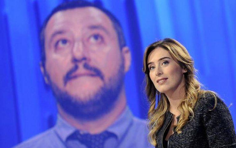 Maria Elena Boschi Matteo Salvini