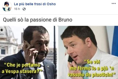 Meme Salvini Renzi