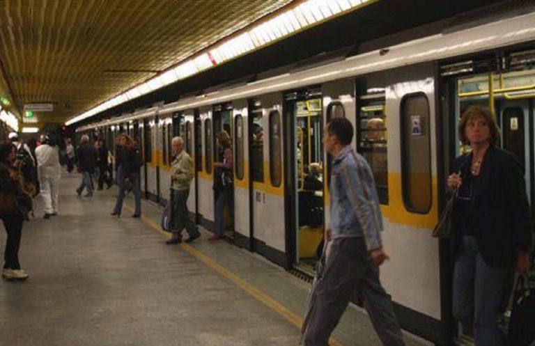 metro gialla bloccata oggi