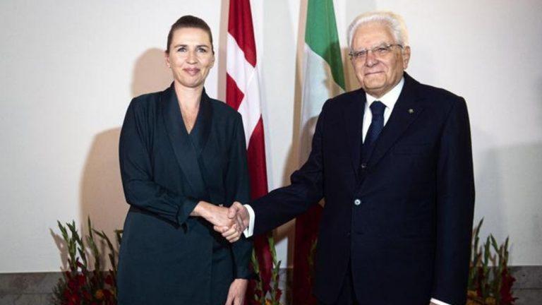 ministro danese mattarella look