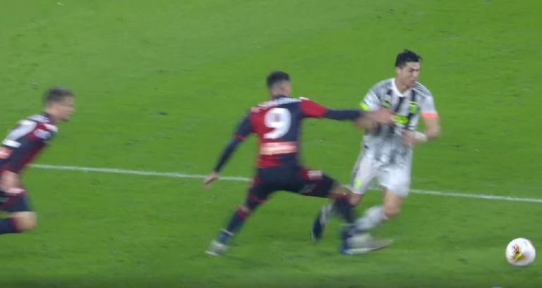 moviola juve genoa