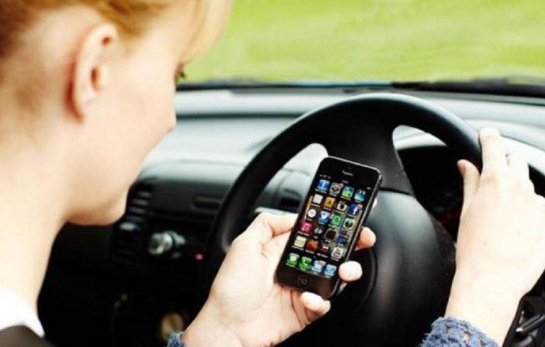 multe per guida con il cellulare