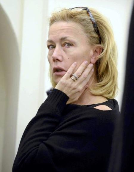 Nancy Brilli senza trucco