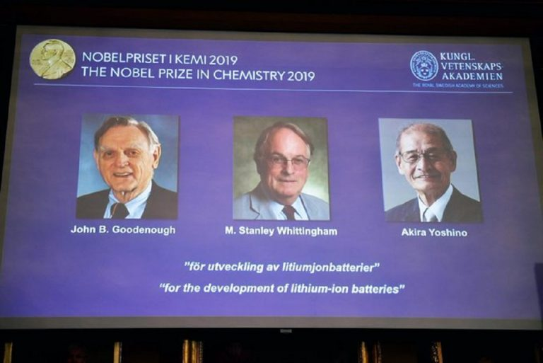 nobel chimica 2019