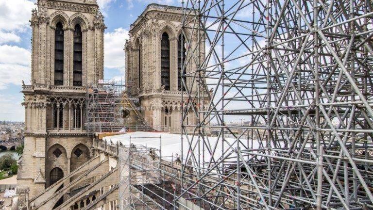 Restauro Notre Dame