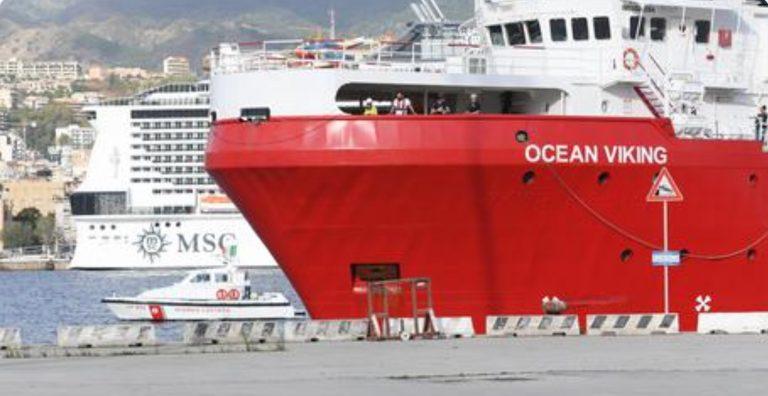 ocean viking sbarco