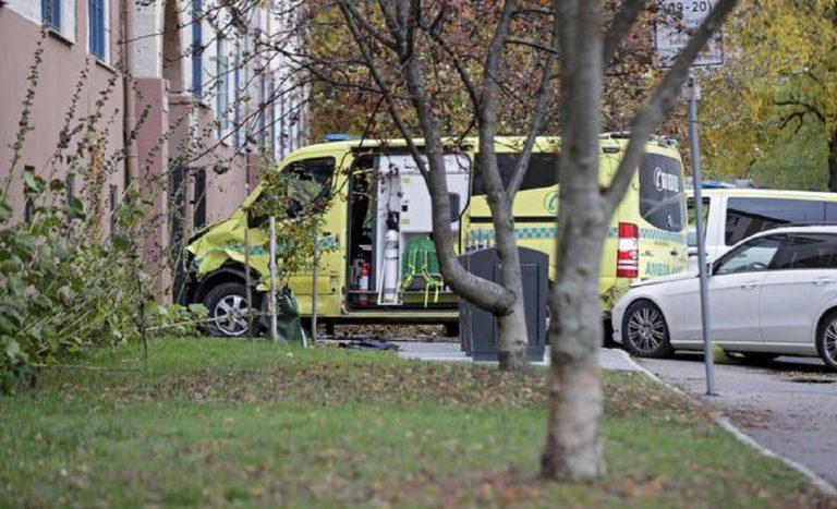 oslo ambulanza pedoni
