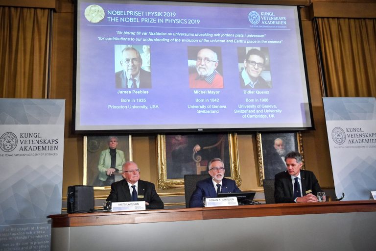 premio nobel fisica 2019