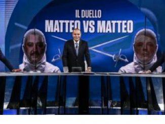 Salvini-Renzi a Porta a Porta: la chiamata tra i due prima dello scontro