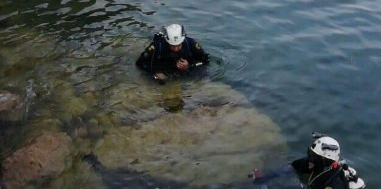 rifiuti nel lago d'Iseo