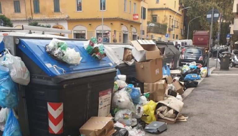 Rifiuti Roma impianti regione