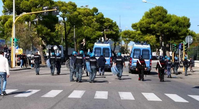 scontri protesta