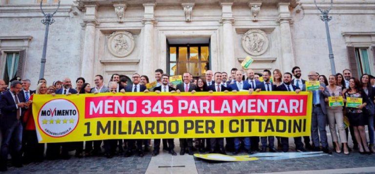Taglio dei parlamentari risparmio