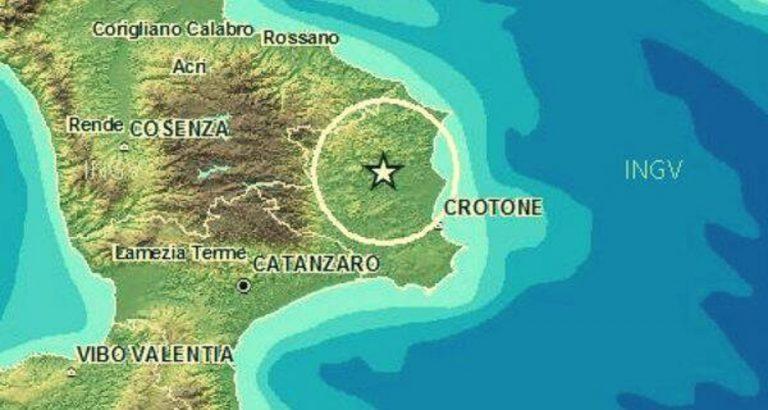 terremoto crotone