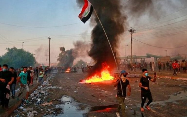 uomini mascherati iraq