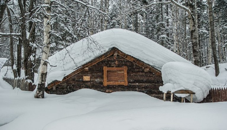 weekend in chalet di montagna con caminetto