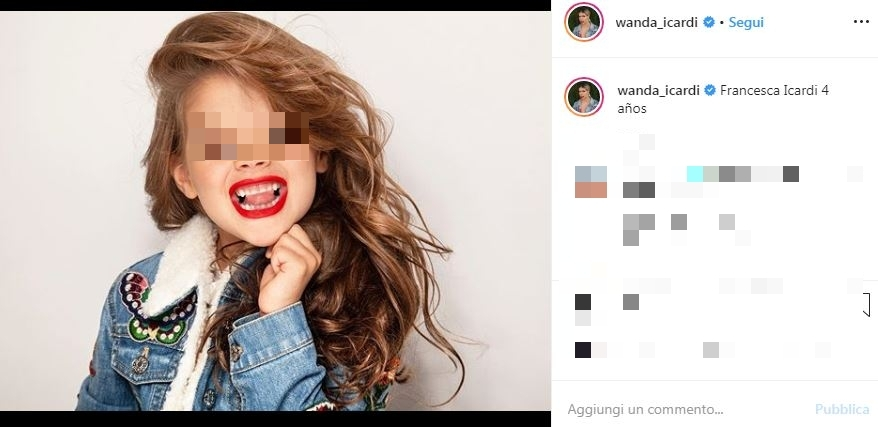 Wanda Nara Francesca Icardi
