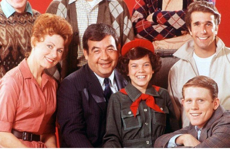 Cast Happy Days insieme