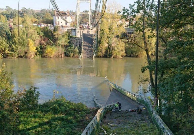 crolla ponte tolosa