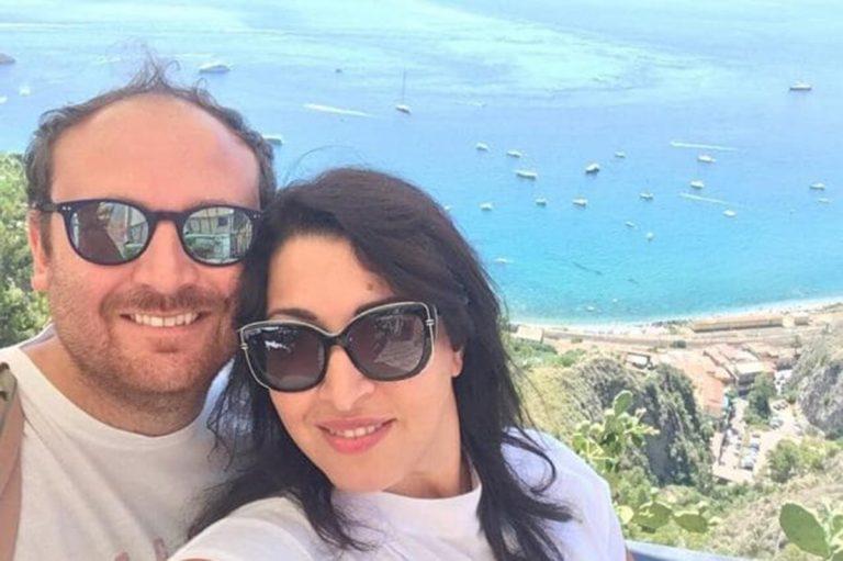 Flavio Di Muro con la fidanzata Elisa De Leo