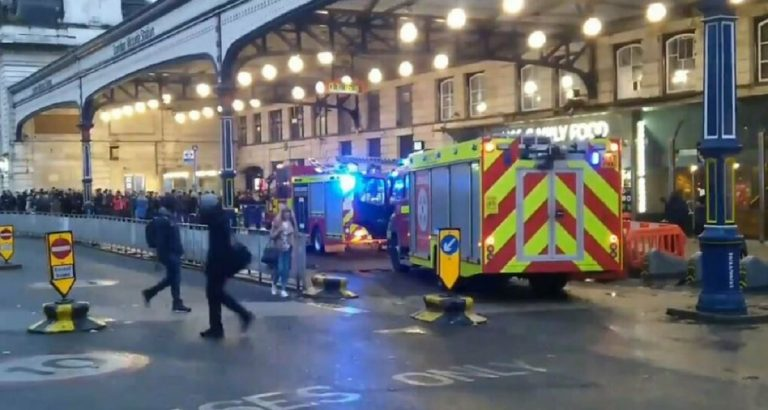 evacuata stazione londra