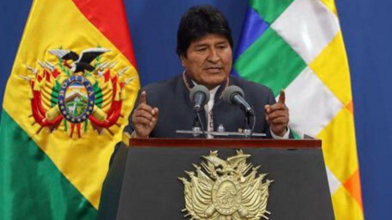 Evo Morales presidente Bolivia