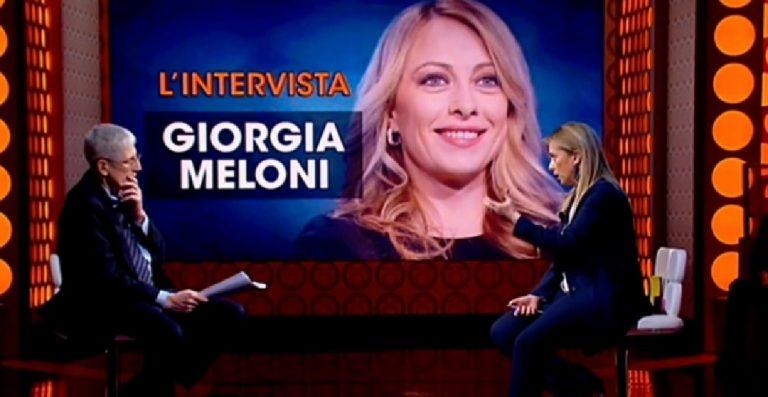 Giorgia Meloni fuori dal coro