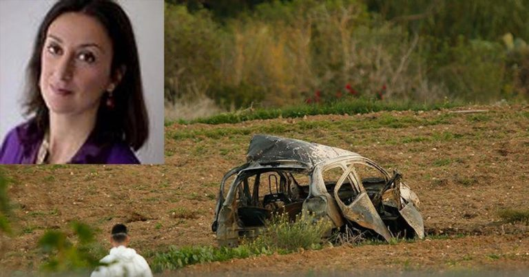 giornalista uccisa a Malta