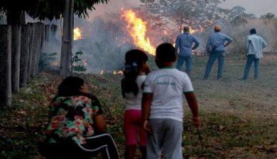 incendio in Brasile