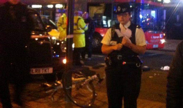 Incidente autobus Londra