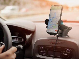 Ricarica wireless per auto.