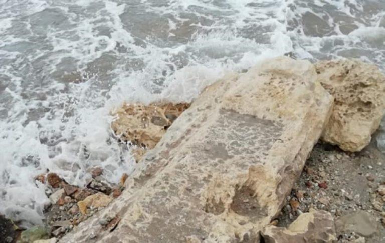 Maltempo Porto Cesareo tomba
