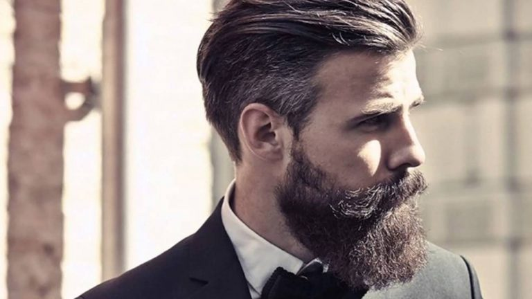 Barba folta e omogenea.