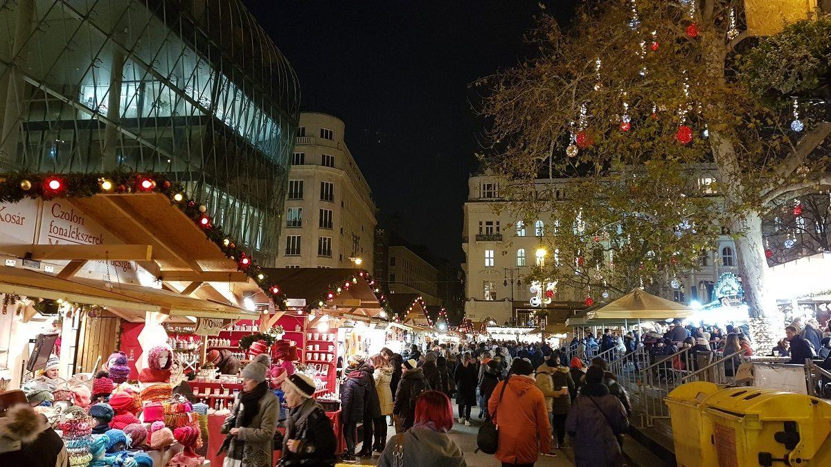 mercatini natale europa budapest