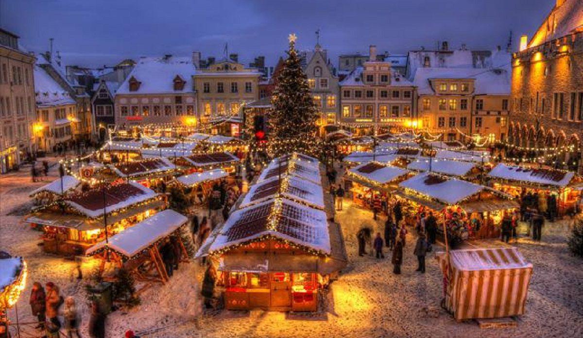 mercatini natale europa tallinn