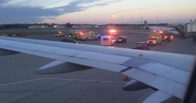 Pilota morto in aereo: velivolo costretto ad atterraggio d'emergenza
