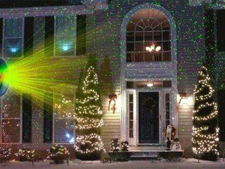 proiettore luci natalizie