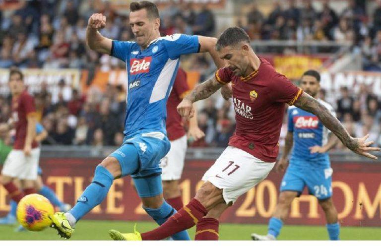 Roma Napoli partita