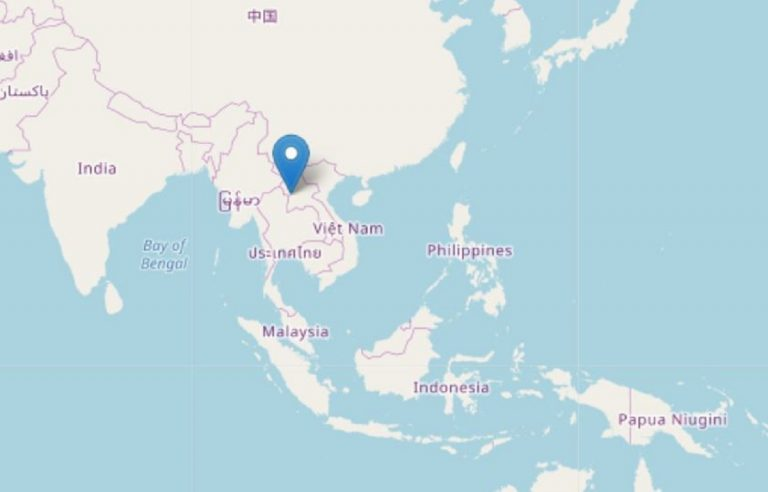 terremoto laos oggi