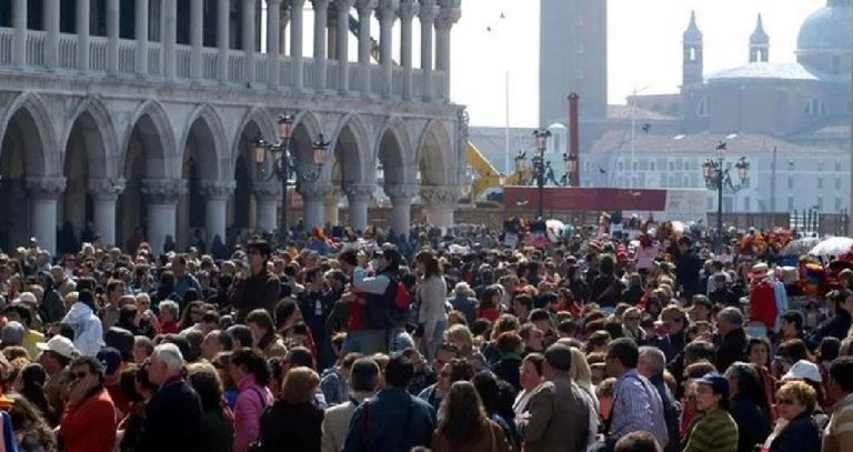 Venezia turisti