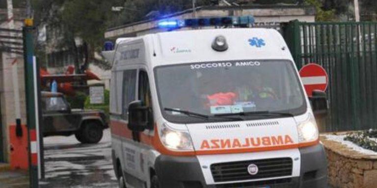 ambulanza donna travolta strisce pedonali