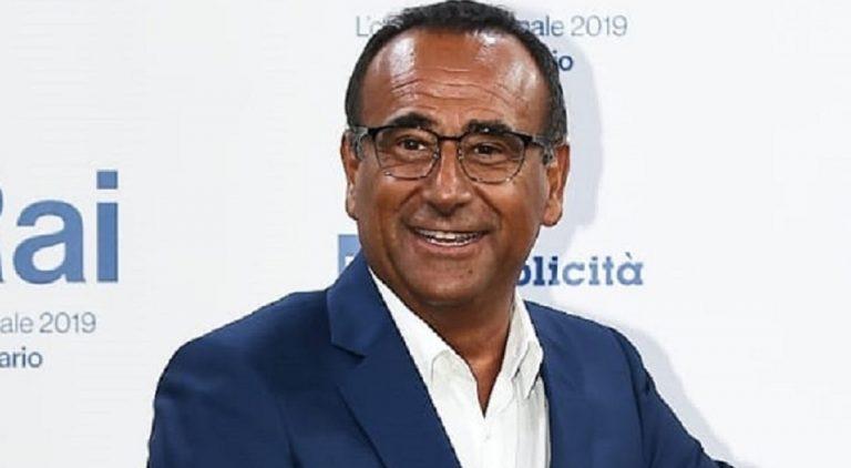 Carlo Conti sbiancato