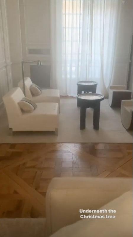 Wanda Nara casa Parigi