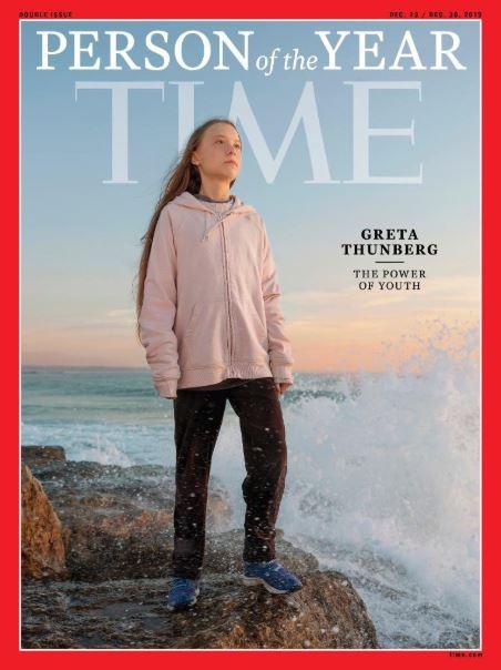 copertina Time Greta Thunberg persona dell'anno